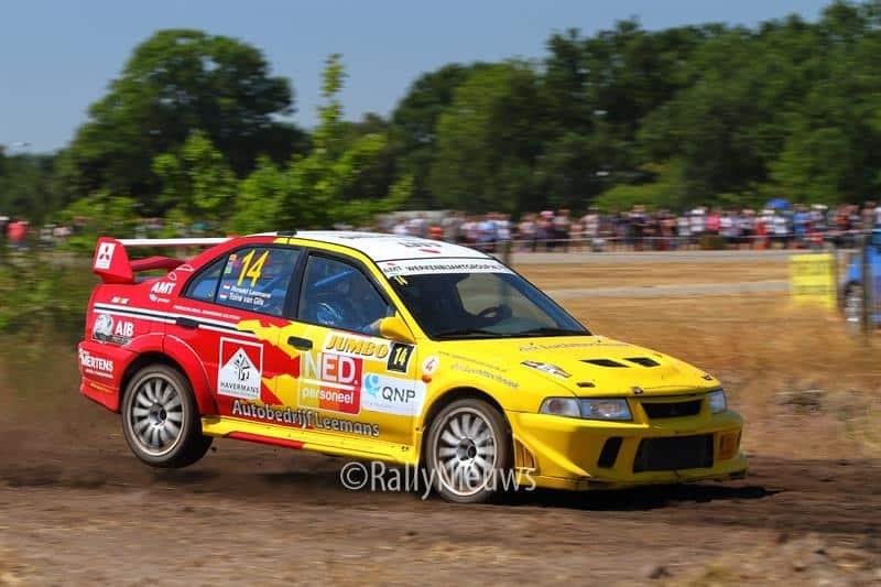Ronald Leemans & Toine van Gils - Mitsubihsi Lancer Evo VI - GTC Rally 2018