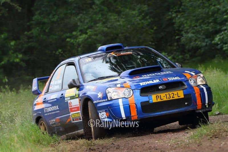 Martijn van Hoek & Dennis Lippens - Subaru Impreza N11 - ELE Rally 2018
