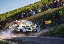 Henk Vossen & Erwin Berkhof - Ford Fiesta R5 - ADAC Rallye Deutschland 2018
