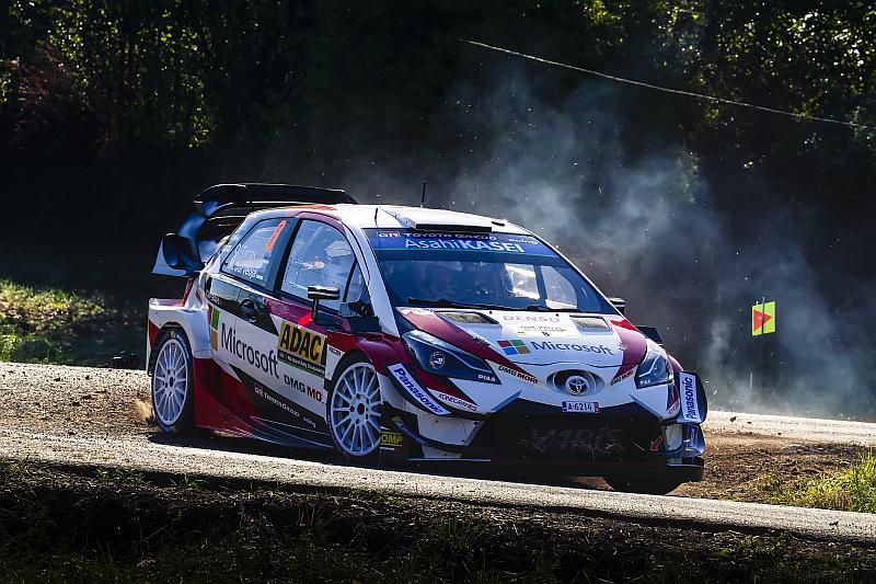 Ott Tanak - Toyota Yaris WRC - ADAC Rallye Deutschland 2018