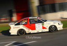 Dries Bosch & Coen Roetgerink - Toyota Corolla AE86 - Hellendoorn Short Rally 2018