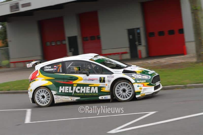Henk Vossen & Johan Findhammer - Ford Fiesta R5 - Hellendoornrally 2018