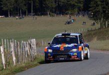 Hermen Kobus & Erik de Wild - Skoda Fabia R5 - East Belgian Rally 2018