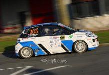 Rick Lubberding & Mark Kuipers - Opel Adam - Hellendoorn Short Rally 2018