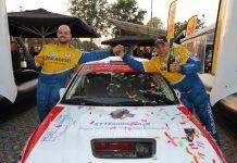 Piet van Hoof & Max Jacobs - Mitsubishi Lancer Evo IV - Twente Rally 2018