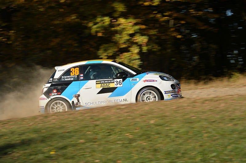 Ernst Kranenburg & Peter van Teunenbroek - Opel Adam - Rallye Erzgebirge 2018