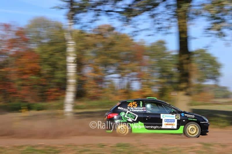Geert ter Harmsel & Jan Kamphuis - Peugeot 206 - Twente Rally 2018