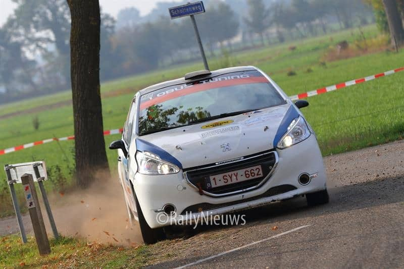 Gert-Jan Kobus & Martin Nortier - Peugeot 208 R2 - Twente Rally 2018