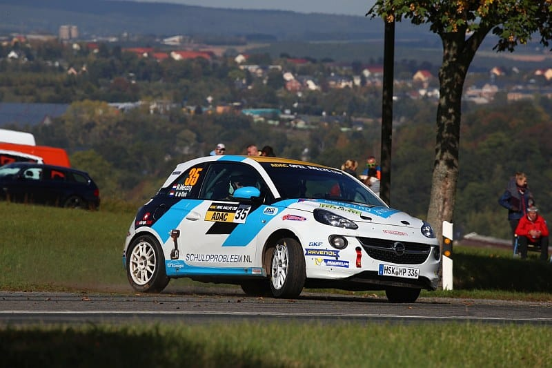 Martin Menzing & Wout de Klerk - Opel Adam - Rallye Erzgebirge 2018
