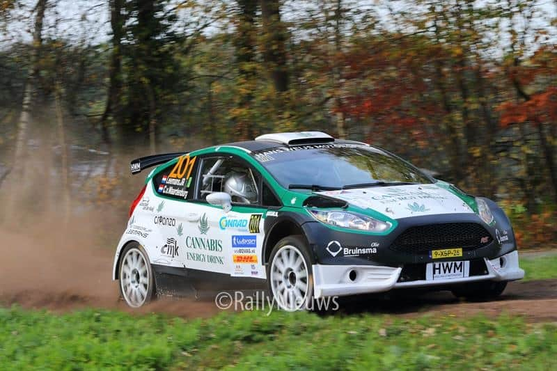 Roald Leemans & Christiaan Paul van Waardenburg - Ford Fiesta R5 - Twente Short Rally 2018