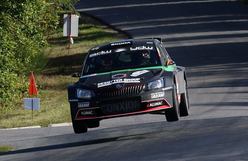 Vincent Verschueren & Veronique Hostens - Skoda Fabia R5 - East Belgian Rally 2018