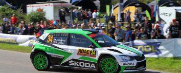Jan Kopecky & Pavel Dresler - Skoda Fabia R5 - ADAC Rallye Deutschland 2017