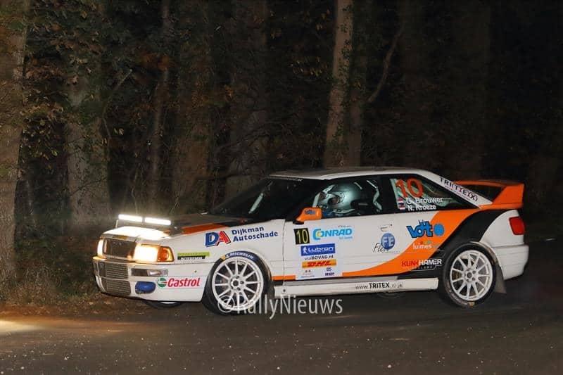 Gerben Brouwer & Niels Kroeze - Audi Quattro S2 - Twente Rally 2018