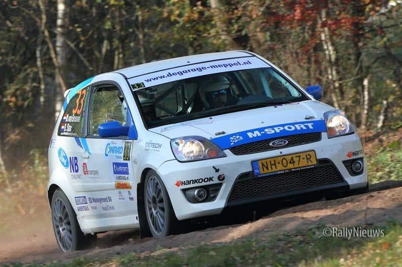 Martin van Brussel & Bart Stax - Ford Fiesta ST150 - Twente Rally 2018