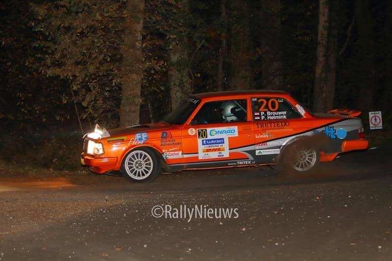 Pierre Brouwer & Paul Helmink - Volvo 240 Turbo - Twente Rally 2018