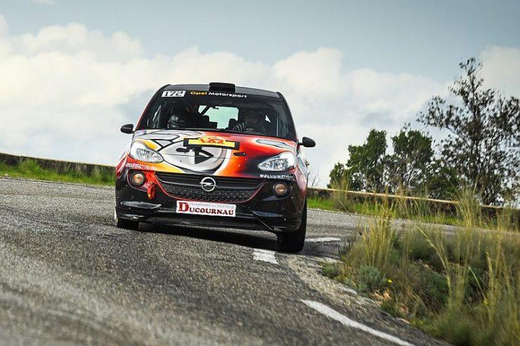 Timo van der Marel & Rebecca van der Marel - Opel Adam R2 - Rally du Var 2018