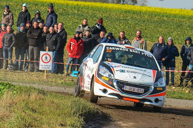 gilles pyck - peugeot 208 r2 - condroz rally 2018