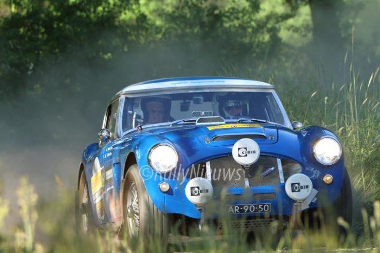 Robert Millar & Midas Nelisen - Austin Healey 3000 - ELE Legend Rally 2017
