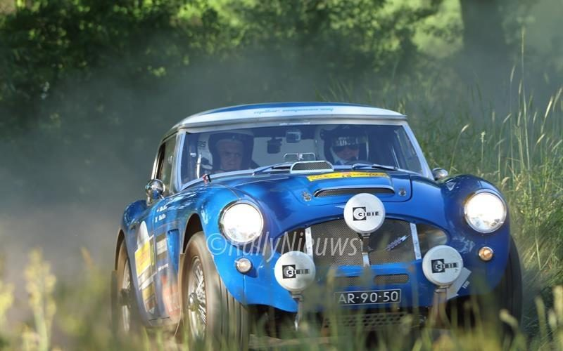Robert Millar & Midas Nelisen - Austin Healey 3000 - ELE Legend Rally 2017