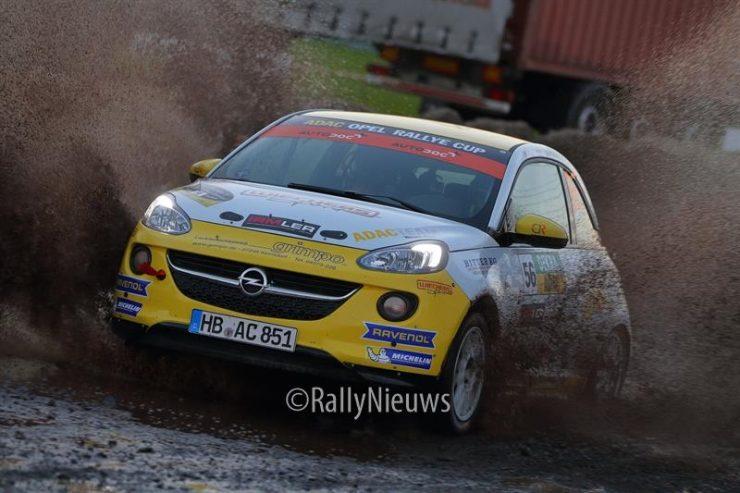 Opel Adam - ADAC Opel Rallye Cup - Rallye Sulingen 2018