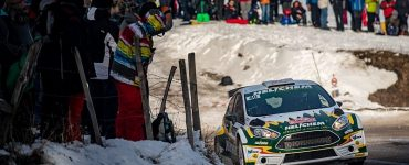 Henk Vossen & Erwin Berkhof - Ford Fiesta R5 - Rallye Monte Carlo 2018