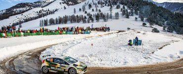 Henk Vossen - Ford Fiesta R5 - Rallye Monte Carlo 2018