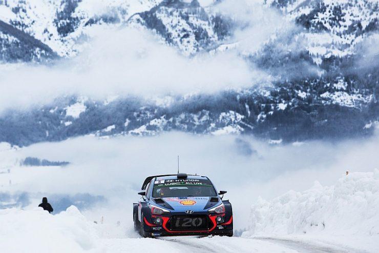 Thierry Neuville & Nicolas Gilsoul - Hyundai i20 WRC - Rallye Monte Carlo 2018