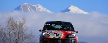 Timo van der Marel & Rebecca van der Marel - Opel Adam R2 - Rallye de Monte Carlo 2018