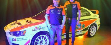 Pierre Brouwer & Paul Helmink - Mitsubishi Lancer Evo X