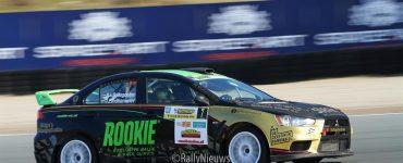 Antoine van Ballegooijen & Johan Findhammer - Mitsubishi Lancer Evo X - Circuit Short Rally 2019