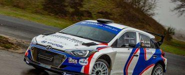 Bob de Jong en Bjorn Degandt - Hyundai i20 R5 - Zuiderzeerally 2019