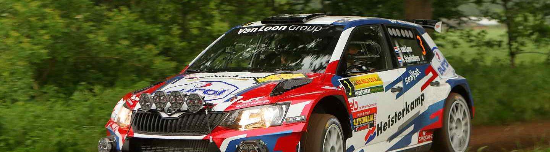 Erik van Loon en Harmen Scholtalbers - Skoda Fabia R5 - ELE Rally 2018