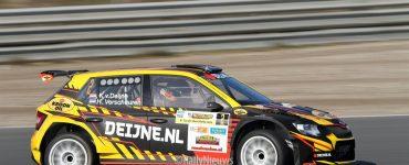 Kevin van Deijne en Hein Verschuuren - Skoda Fabia R5 - Circuit Short Rally 2019