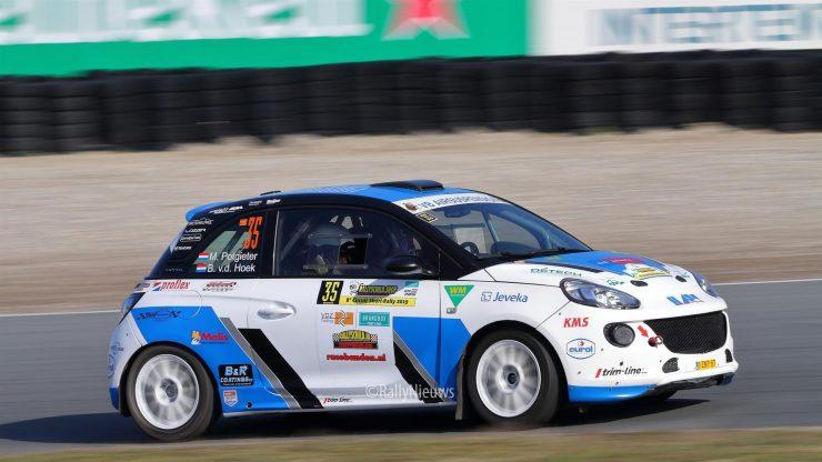 Maarten Potgieter & Bart van den Hoek - Opel Adam - Circuit Short Rally 2019