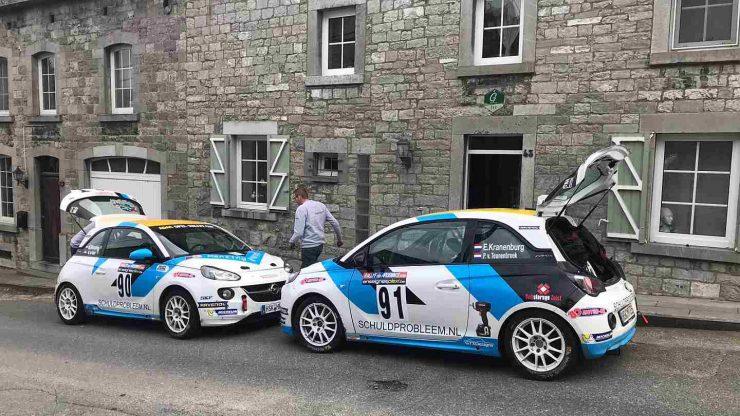 Rallysport Utrecht - Opel Adam - Rallye des Ardennes 2019