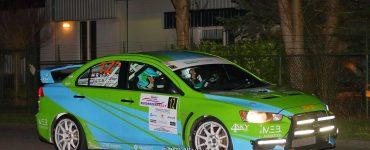 Roel van der Zanden en Ilse van de Sande - Mitsubishi Lancer Evo X - Zuiderzeerally 2019