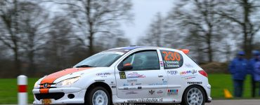 Rudy Schenkeveld en Joost Schenkeveld - Peugeot 206 - Zuiderzee Shortrally 2019