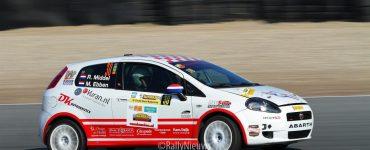 Ruud Middel en Martijn Ebben - Fiat Grande Punto Abarth R3D - Circuit Short Rally 2019