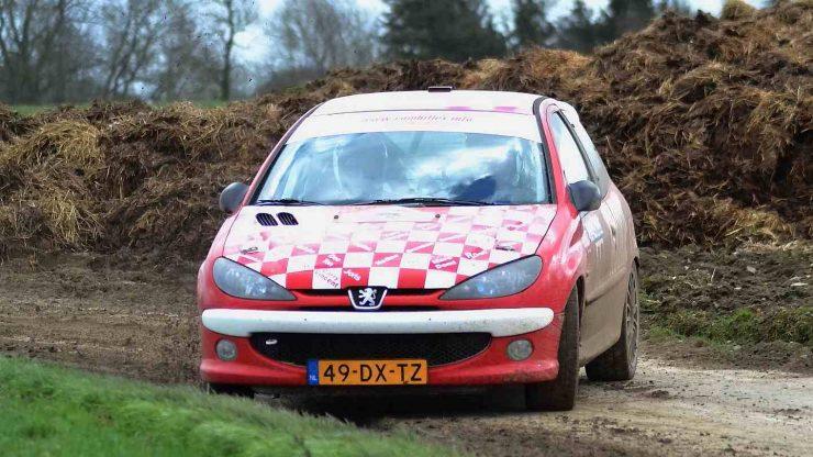 Wim Stevens en Wesley Stevens - Peugeot 206 RC - Rallye de Hannut 2019