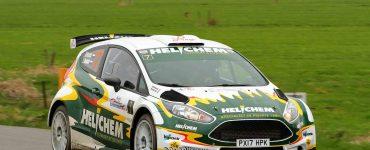 1Henk Vossen en Lieke Bouman - Ford Fiesta R5 - Zuiderzeerally 2019