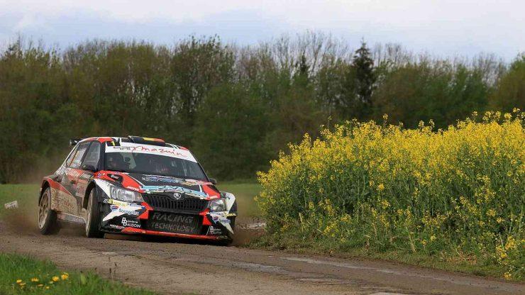 Adrian Fernemont - Skoda Fabia R5 - Rallye de Wallonie 2019