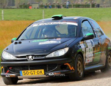 Alex Eisenberg & Jurgen van Hooijdonk - Peugeot 206 - Visual Art Rally 2019
