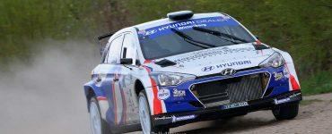 Bob de Jong & Kees Hagman - Hyundai i20 R5 - Visual Art Rally 2019