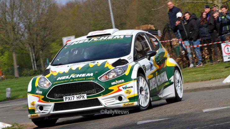 Henk Vossen & Lieke Bouman - Ford Fiesta R5 - Visual Art Rally 2019
