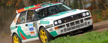 Jef van Hooft en Edit Gevers - Lancia Delta - Twente Rally 2018
