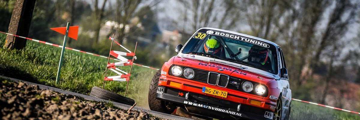 Mats van den Brand & Eddy Smeets - BMW M3 - TAC Rally 2019