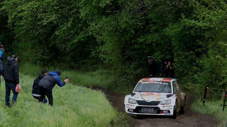 Pieter-Jan Michiel Cracco & Jasper Vermeulen - Skoda Fabia R5 - Rallye de Wallonie 2019