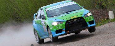 Roel van der Zanden & Ilse van de Sande - Mitsubishi Lancer Evo X - Visual Art Rally 2019
