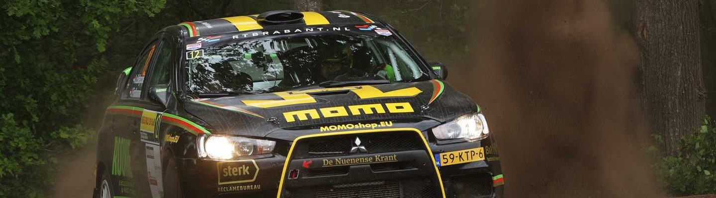 Antoine van Ballegooijen & Johan Findhammer - Mitsubishi Lancer Evo X - ELE Rally 2019
