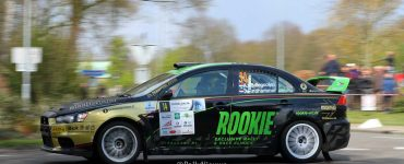 Antoine van Ballegooijen & Johan Findhammer - Mitsubishi Lancer Evo X - Visual Art Rally 2019